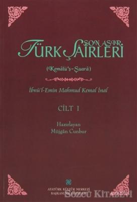 İbnü'l-Emin Mahmut Kemal İnal - Son Asır Türk Şairleri - 5 Cilt Takım | Sözcü Kitabevi