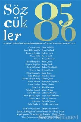 Kolektif - Sözcükler Dergisi 85-86. Sayı Mayıs Haziran - Temmuz Ağustos 2020   Sözcü Kitabevi