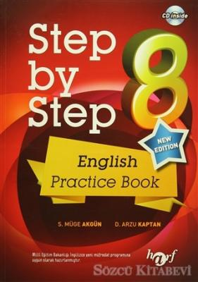 Step by Step 8: English Practice Book