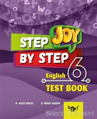 Step By Step Joy 6. Sınıf English Test Book