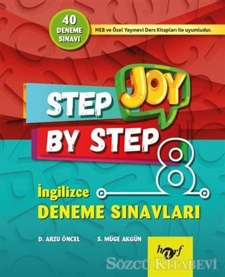 Step By Step Joy 8. Sınıf İngilizce Deneme Sınavları