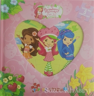 - Strawberry Shortcake Çilek Kız Yapboz Kitabım | Sözcü Kitabevi