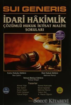 Ahmet Emre - Sui Generis İdari Hakimlik (2 Kitap Takım) | Sözcü Kitabevi