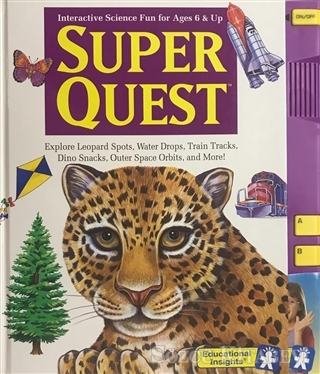 Super Quest - İnteractive Science Fun for Ages 6 and Up