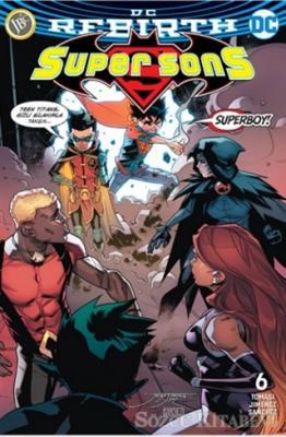 Super Sons Sayı 6 ( DC Rebirth )