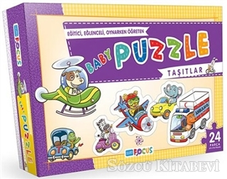Blue Focus BF046 Taşıtlar - Baby Puzzle