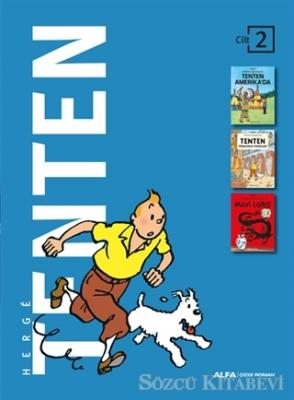 Herge - Tenten Cilt 2 | Sözcü Kitabevi