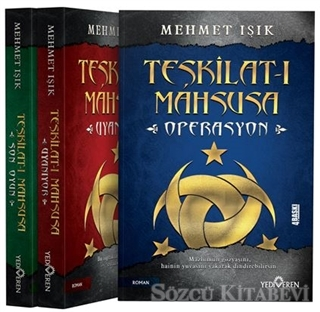 Teşkilat-ı Mahsusa Seti (3 Kitap Takım)