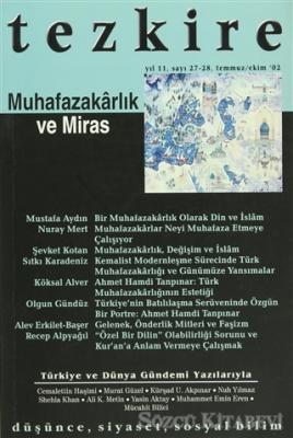 Tezkire Dergisi Sayı: 27 - 28