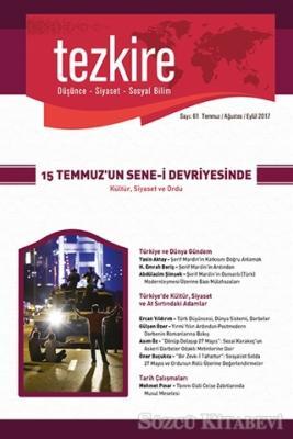 Kolektif - Tezkire Dergisi Sayı : 61 Temmuz - Ağustos - Eylül 2017 | Sözcü Kitabevi