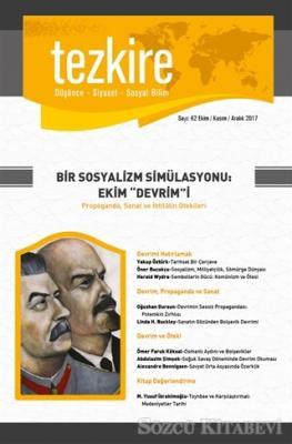 Tezkire Dergisi Sayı : 62 Ekim - Kasım - Aralık 2017
