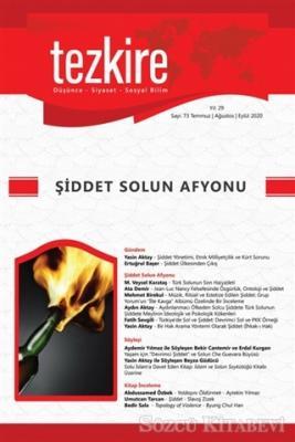 Tezkire Dergisi Sayı: 73 Temmuz-Ağustos-Eylül 2020