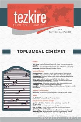Tezkire Dergisi Sayı: 74 Ekim-Kasım-Aralık 2020