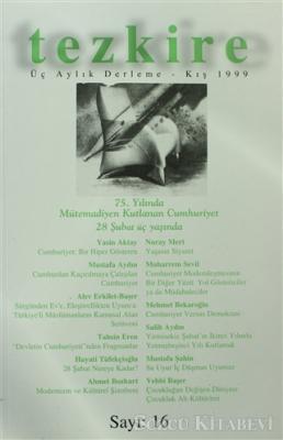 Kolektif - Tezkire Üç Aylık Derleme Sayı: 16 | Sözcü Kitabevi