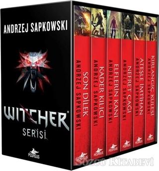 Andrzej Sapkowski - The Witcher Serisi 6 Kitap Takım - Kutulu Özel Set | Sözcü Kitabevi