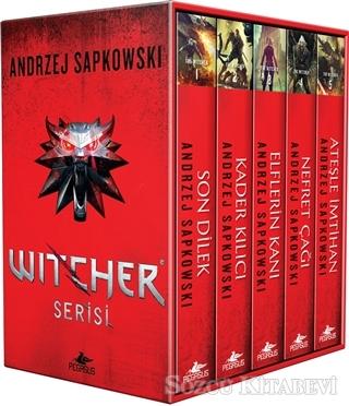 Andrzej Sapkowski - The Witcher Serisi - Kutulu Özel Set (5 Kitap Takım) | Sözcü Kitabevi