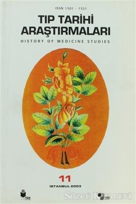 Tıp Tarihi Araştırmaları 11