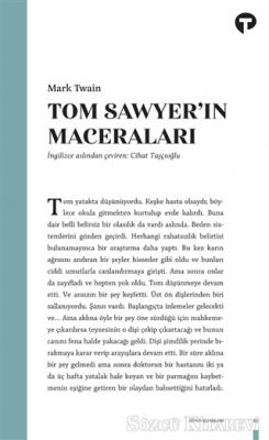 Mark Twain - Tom Sawyer'in Maceraları | Sözcü Kitabevi