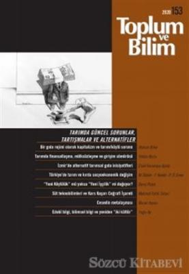 Toplum ve Bilim Dergisi Sayı: 153