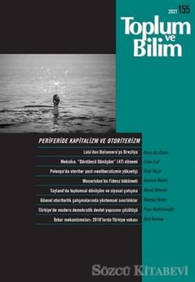 Toplum ve Bilim Dergisi Sayı: 155