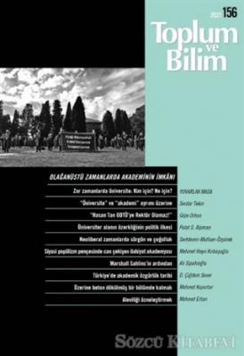 Kolektif - Toplum ve Bilim Dergisi Sayı: 156 | Sözcü Kitabevi