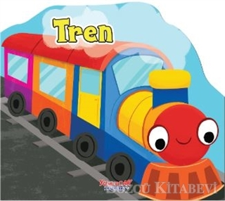 Tren - Şekilli Kitap