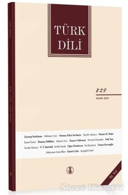 Türk Dili Dergisi Sayı: 829 Ocak 2021