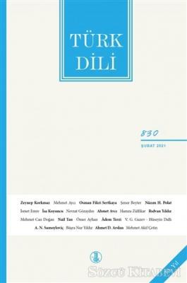 Türk Dili Dergisi Sayı: 830 Şubat 2021