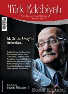 Türk Edebiyatı Dergisi Sayı : 521 Mart 2017