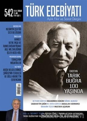 Türk Edebiyatı Dergisi Sayı : 542 Aralık 2018