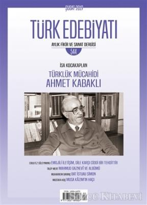 Türk Edebiyatı Dergisi Sayı: 544 Şubat 2019