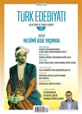 Türk Edebiyatı Dergisi Sayı 554 Aralık 2019