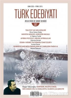 Türk Edebiyatı Dergisi Sayı: 567 Ocak 2021