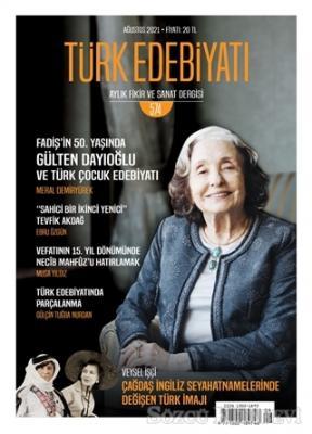 Kolektif - Türk Edebiyatı Dergisi Sayı: 574 Ağustos 2021 | Sözcü Kitabevi