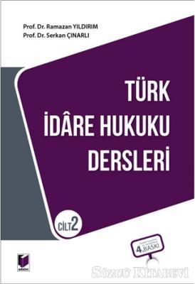 Türk İdare Hukuku Dersleri Cilt 2
