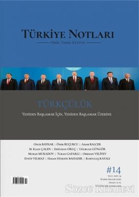 Türkiye Notları Dergisi Sayı 14