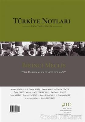 Türkiye Notları Fikir Tarih Kültür Dergisi Sayı: 10