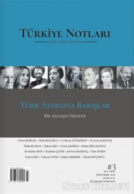 Kolektif - Türkiye Notları Fikir Tarih Kültür Dergisi Sayı: 3 | Sözcü Kitabevi