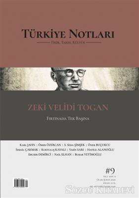 Türkiye Notları Fikir Tarih Kültür Dergisi Sayı: 9