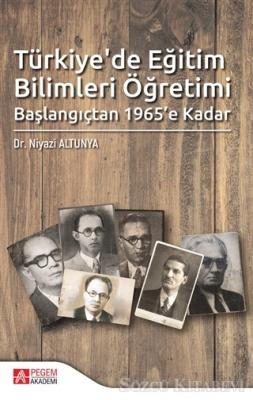 Türkiye'de Eğitim Bilimleri Öğretimi