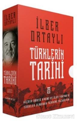 İlber Ortaylı - Türklerin Tarihi Kutulu Set (2 Kitap Takım) | Sözcü Kitabevi