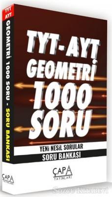 TYT - AYT Geometri 1000 Soru Yeni Nesil Sorular - Soru Bankası