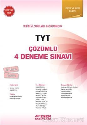 TYT Çözümlü 4 Deneme Sınavı - Kırmızı Seri