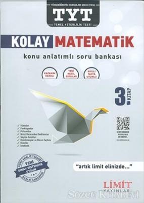 TYT Kolay Matematik Konu Anlatımlı Soru Bankası 3. Kitap