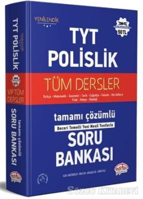 Kolektif - TYT - Polislik Tüm Dersler Tamamı Çözümlü Soru Bankası | Sözcü Kitabevi