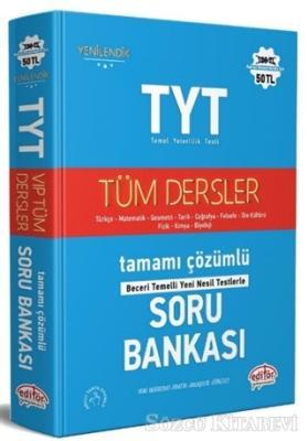Kolektif - TYT Tüm Dersler Tamamı Çözümlü Soru Bankası | Sözcü Kitabevi