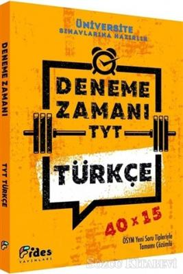 TYT Türkçe 40 x15 Yüzde Yüz Deneme