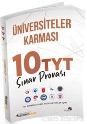 Kolektif - Üniversiteler Karması 10 TYT Sınav Provası | Sözcü Kitabevi