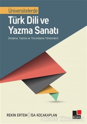 Üniversitelerde Türk Dili ve Yazma Sanatı