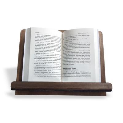 """- Ahşap Kitap Okuma ve Tablet Standı """"Katlanabilir""""   Sözcü Kitabevi"""